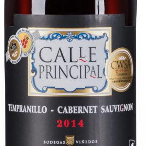 Bodegas Vinedos Contralto - Calle Principal Tempranillo
