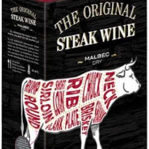 The Original Steak Wine Malbec Dry- 3L