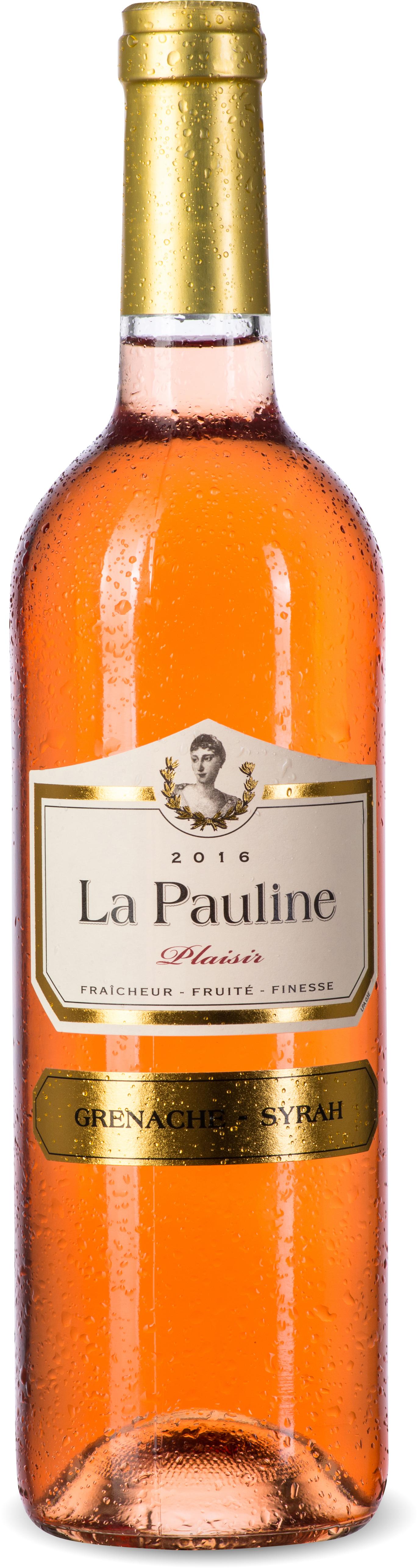 La Pauline Plaisir Rosé Grenache-Syrah IGP Pays d'Oc