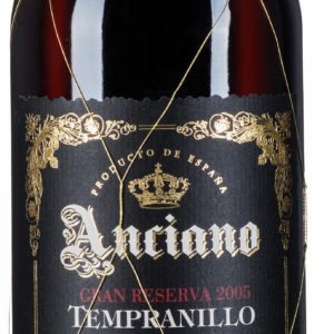 Anciano Tempranillo Valdepeñas DO Gran Reserva 10 Years Aged