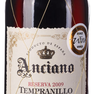 Anciano Tempranillo Valdepeñas DO Reserva 5 Years Aged
