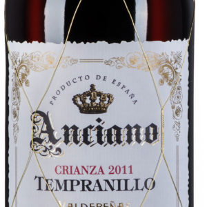 Anciano Tempranillo Valdepeñas DO Crianza 3 Years Aged