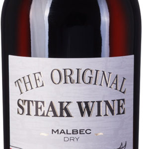 The Original Steak Wine Malbec Dry