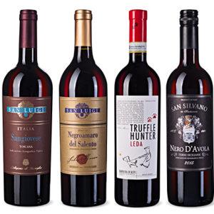 "Ochutnávkový balíček ""Italská červená vína"""