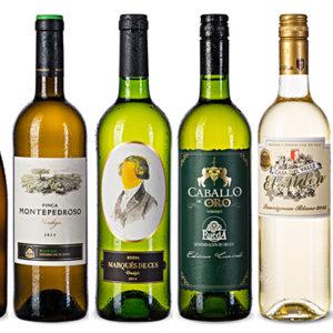 """Ochutnávkový balíček """"Bílá vína ze Španělska"""""""