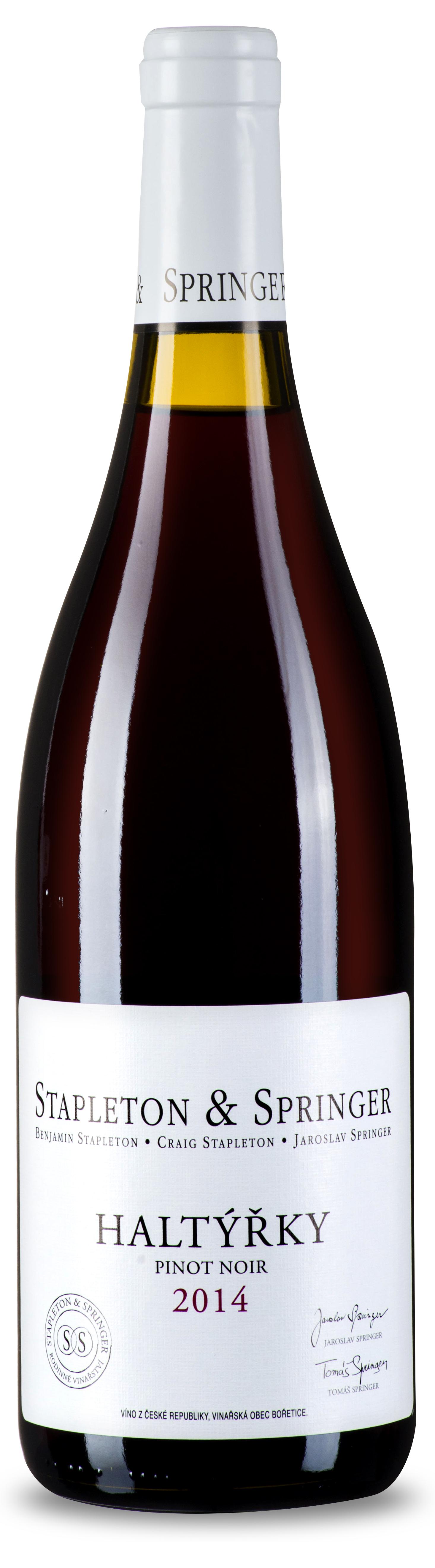 Stapleton-Springer Pinot Noir Haltýřky 2014