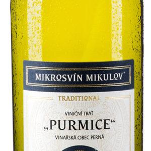 Mikrosvín Rulandské bílé Purmice Traditional Line pozdní sběr 2015