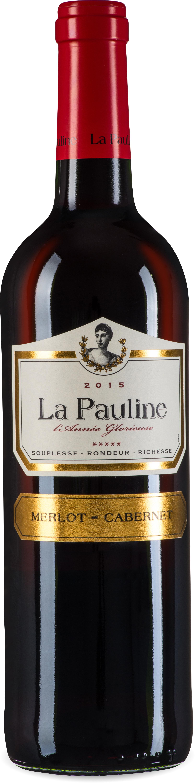 La Pauline l'Annee Glorieuse Merlot-Cabernet -Sauvignon Pays d'Oc IGP