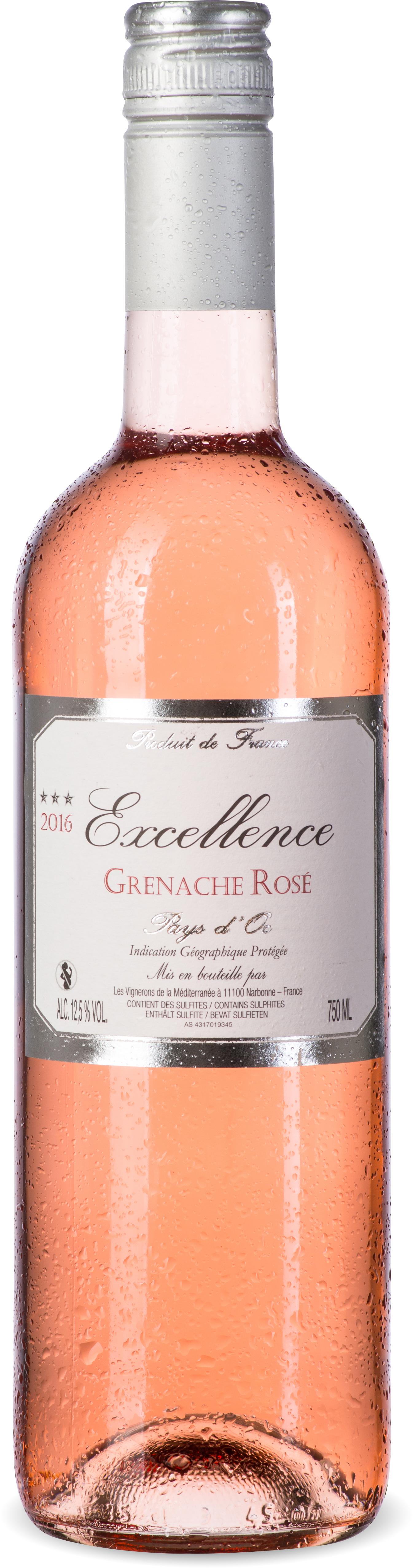 Excellence Rosé Grenache IGP Pays d'Oc