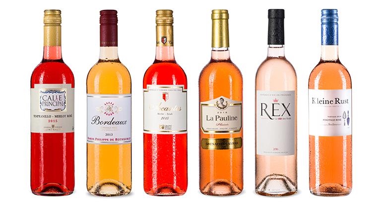 """Ochutnávkový balíček """" Růžové víno"""""""
