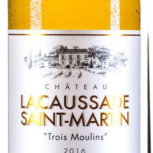 Château Lacaussade Saint-Martin 'Trois Moulins' Blanc AOP Blaye Côtes de Bordeaux